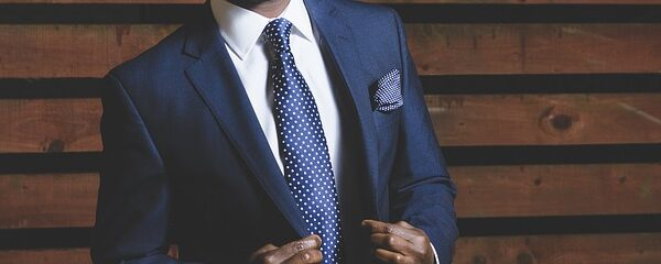lawyer in business suit