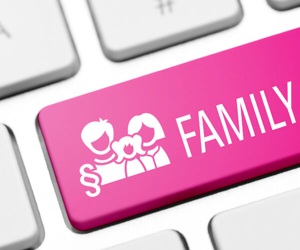Family Law Key on Keyboard