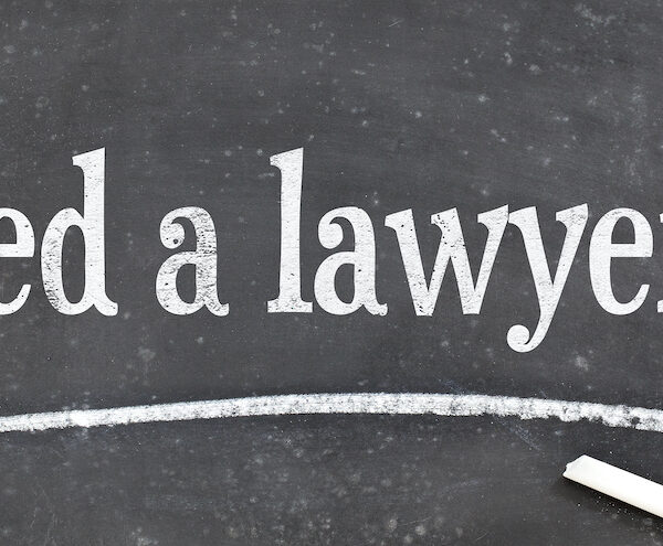 need a lawyer question on a vintage slate blackboard - a legal concept
